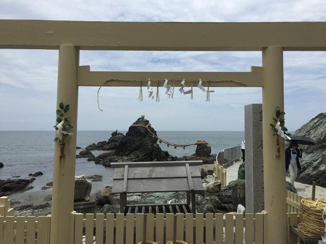 二見興玉神社の夫婦岩