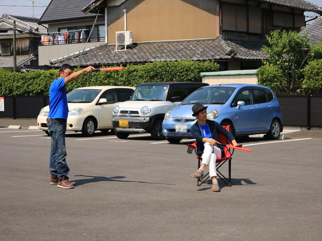 第1駐車場 | 青空バル+クラフト チャリティします!| Acca's Website
