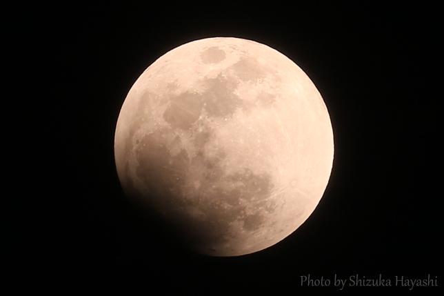 【Photo Album】皆既月食